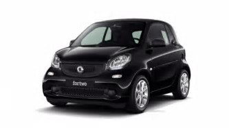 Smart fortwo twinamic youngster nera